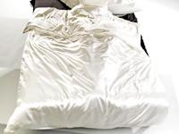 Wilson Gabor Luxuriöse Seiden Satin Bettwäsche 155x220 80x80cm